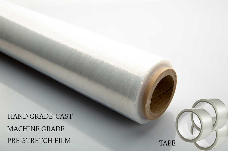 STRETCH FILM & CARTON SEALING TAPE